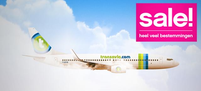 Sale bij Transavia – Boek nu jouw stedentrip!