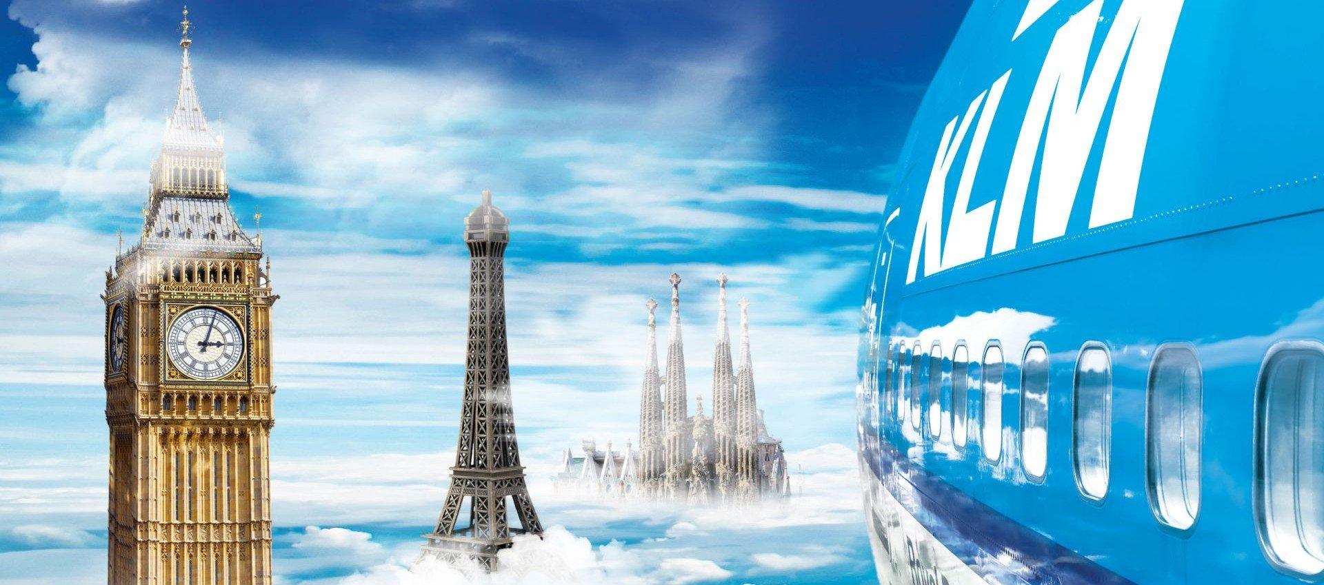 Boek je Stedentrip met KLM vanaf €99