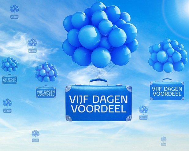 Het is Vijf Dagen Voordeel bij KLM!