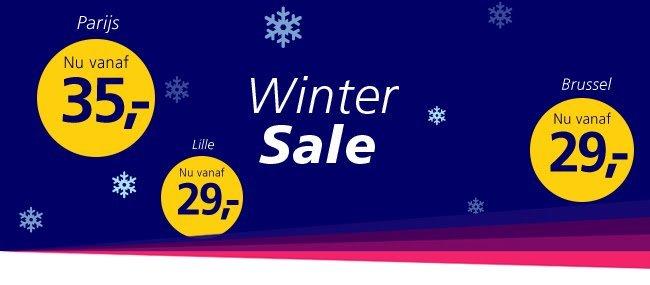Wintersale bij NS International: kerstmarkt voor €29