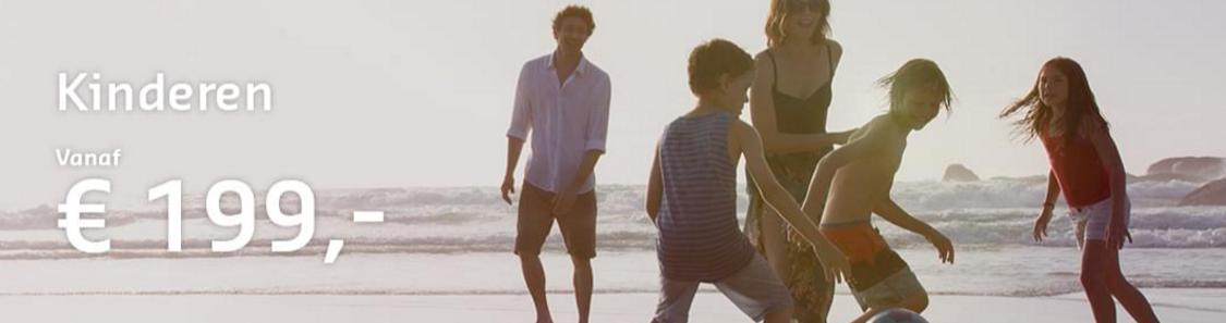 Sunweb familie actie – Kinderen voor €199