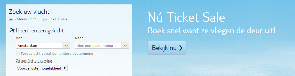 TUI Ticket Sale