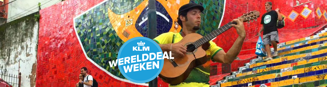 KLM Werelddeal weken 2016