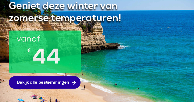 Top-3 winterzon bestemmingen Transavia