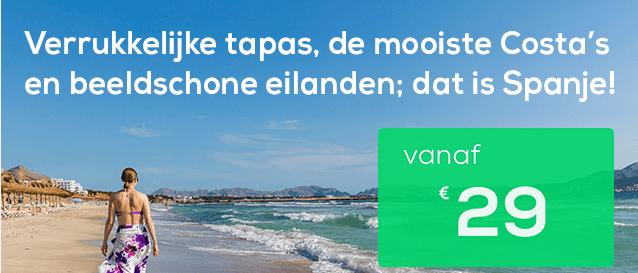 Vertrek deze zomer naar Spanje met Transavia