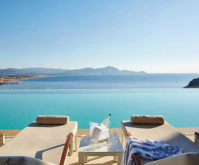 Hotel Lindos Blu – adults only aanbieding
