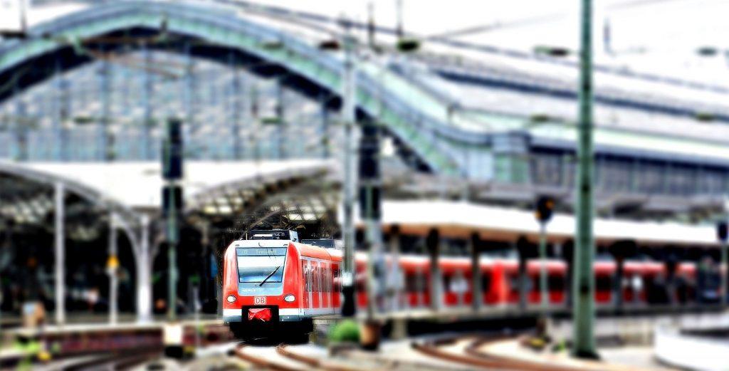 ontspannen op vakantie met de trein