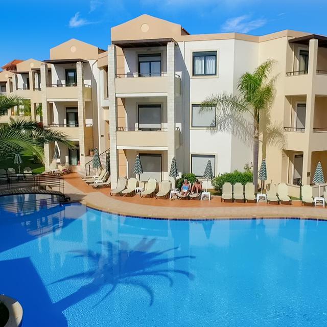 Appartementen Creta Palm – all inclusive aanbieding